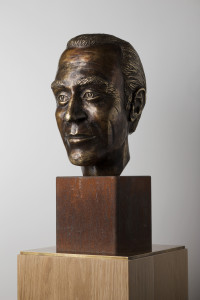 Bust of Harald Edelstam given by Chile's government to the Swedish Parliament May 11, 2016. Photo: Melker Dahlstrand/Riksdagsförvaltningen