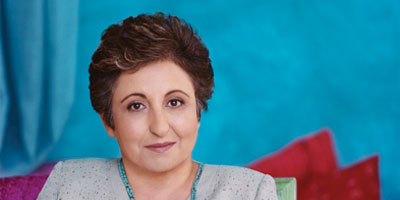 Judge Shirin Ebadi, Nobel Peace Prize Winner in 2003