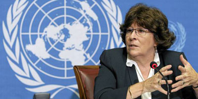 Justice Louise Arbour, former UN High Commissioner of Human Rights