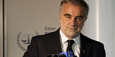 Dr. Luis Moreno-Ocampo, former first Prosecutor of the International Criminal Court (ICC)
