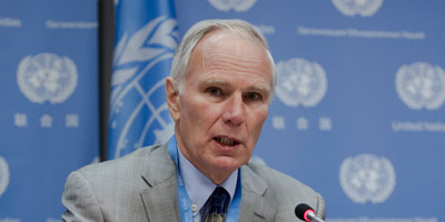 Professor Philip Alston, UN's former special rapporteur on extrajudicial, summary or arbitrary executions