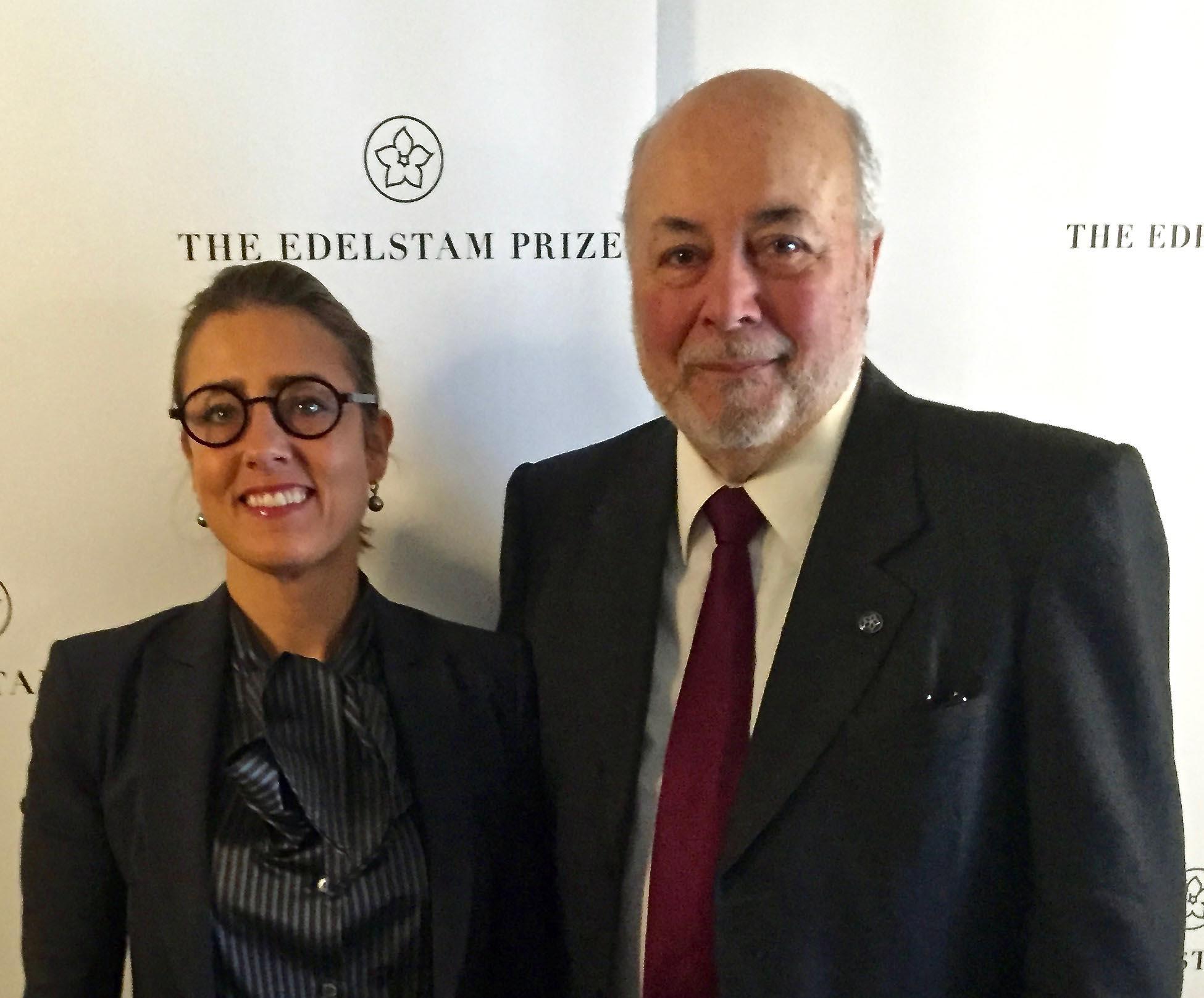 El perseguidor de Pinochet recibe el premio Edelstam